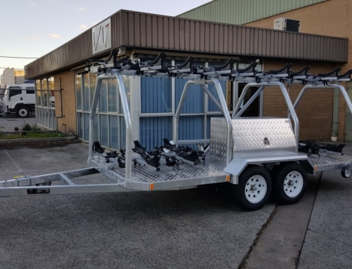 New trailer on its way to Canberra